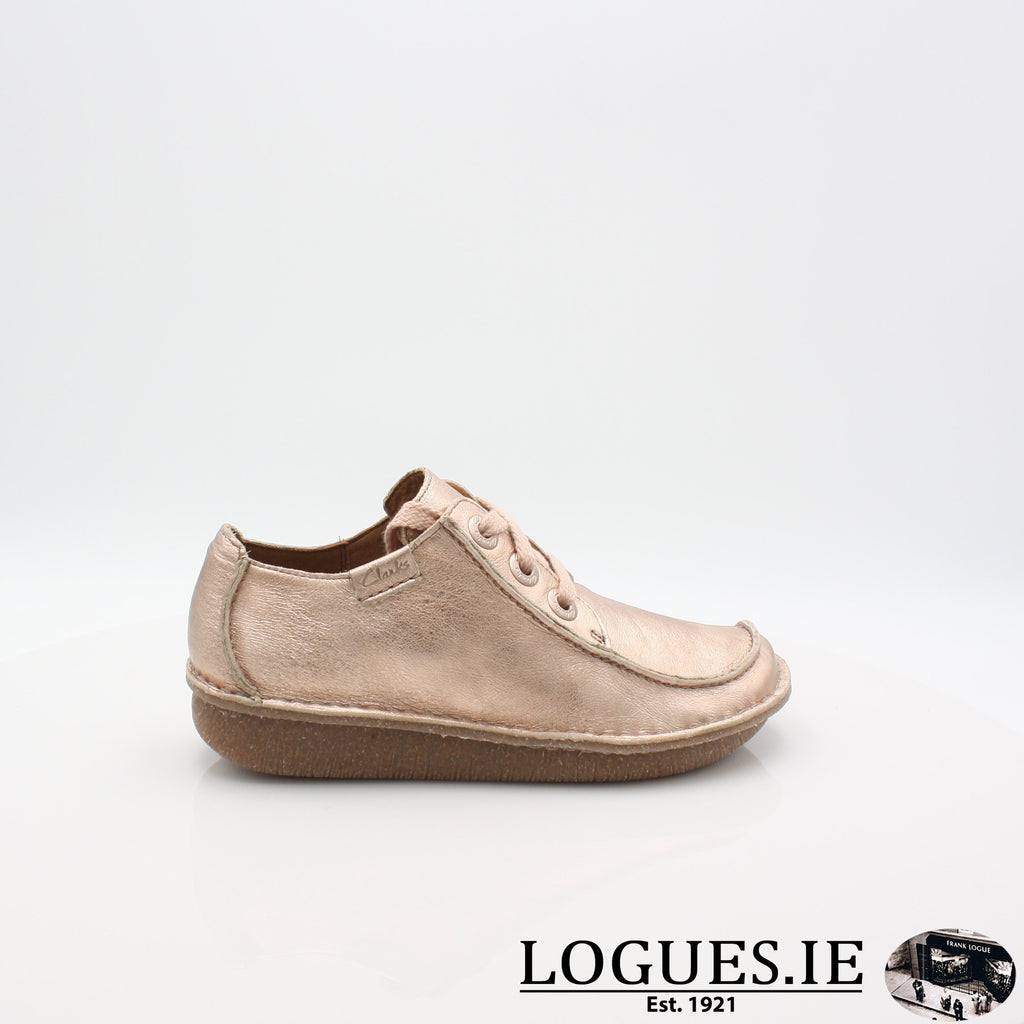Funny Dream CLARKS 19LadiesLogues ShoesRose / 030 / D