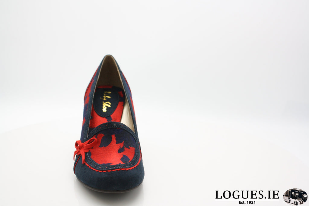 FLORA 09213 RUBY SHOOLadiesLogues ShoesNAVY/RED / 39 = 6 UK