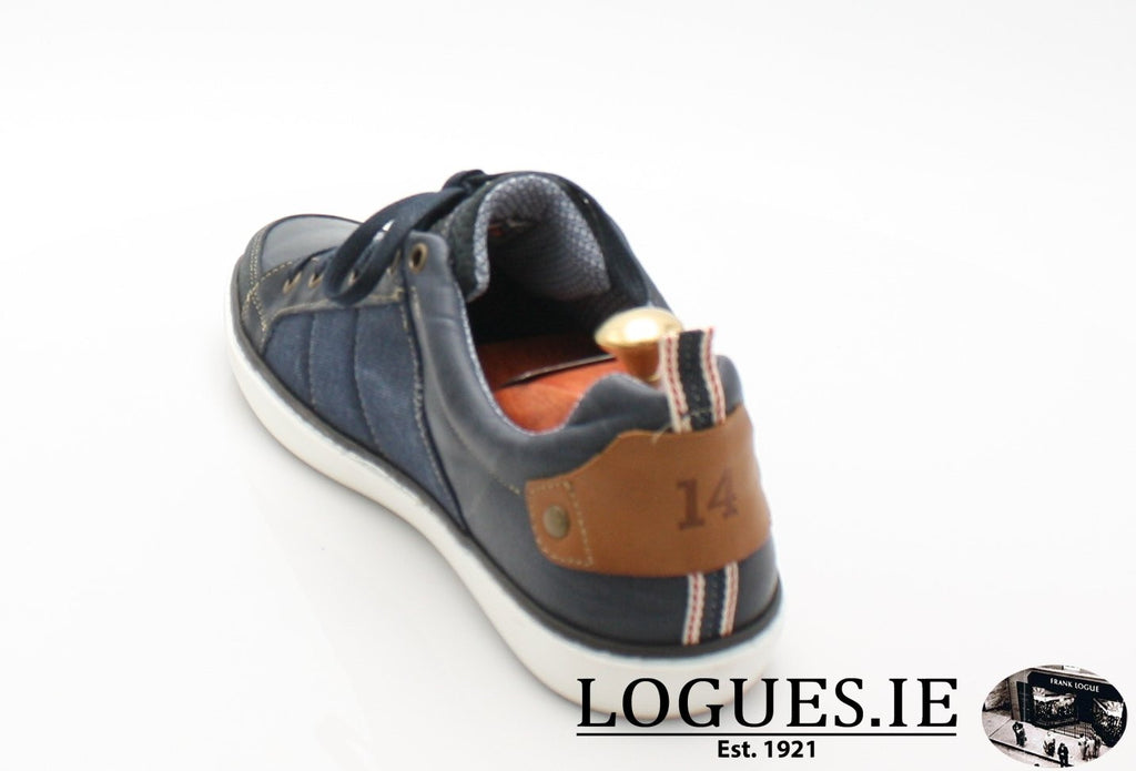 FREEMAN TOMMY BOWE SHOES SS18MensLogues ShoesDENIM / 46 = 11 UK