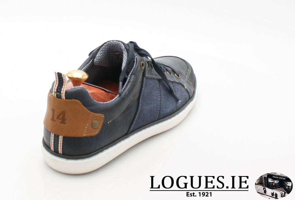 FREEMAN TOMMY BOWE SHOES SS18MensLogues ShoesDENIM / 47 = 12 UK