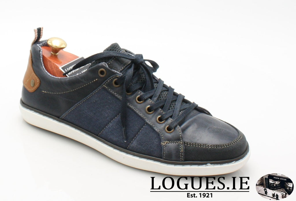 FREEMAN TOMMY BOWE SHOES SS18MensLogues ShoesDENIM / 41 = 7 UK
