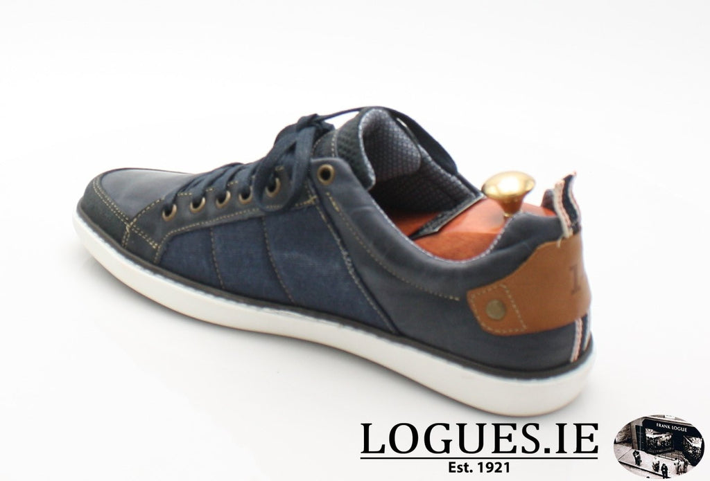 FREEMAN TOMMY BOWE SHOES SS18MensLogues ShoesDENIM / 45 = 10/10.5 UK