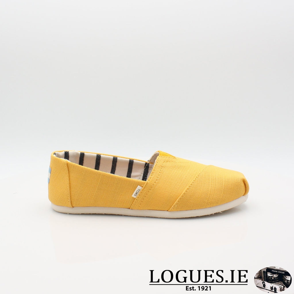 10013872 HERITAGE CANVASLadiesLogues ShoesGOLD FUSION / 3 UK- 36 EU - 5 US