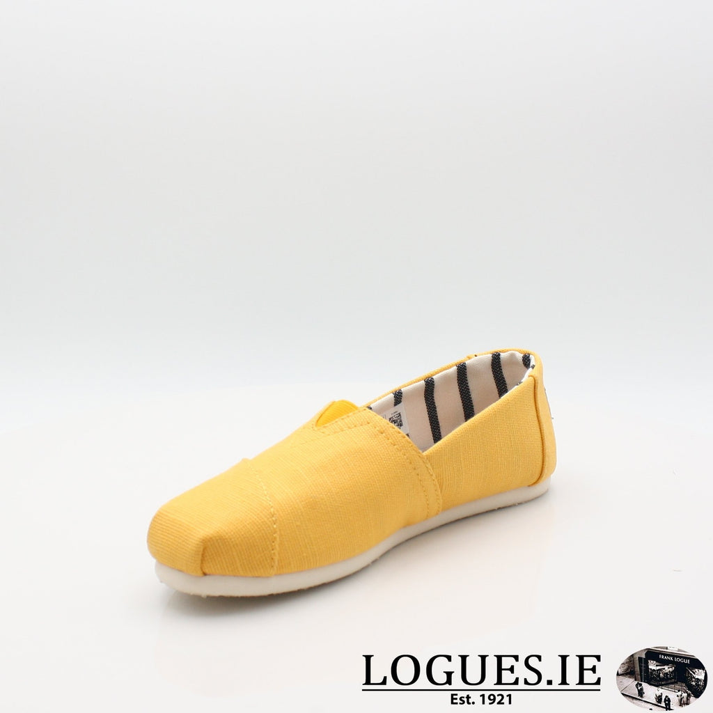 10013872 HERITAGE CANVASLadiesLogues ShoesGOLD FUSION / 6 UK- 39 EU - 8 US
