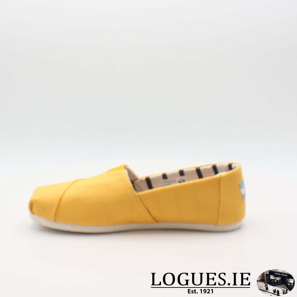 10013872 HERITAGE CANVASLadiesLogues ShoesGOLD FUSION / 7 UK- 41 EU - 9 US