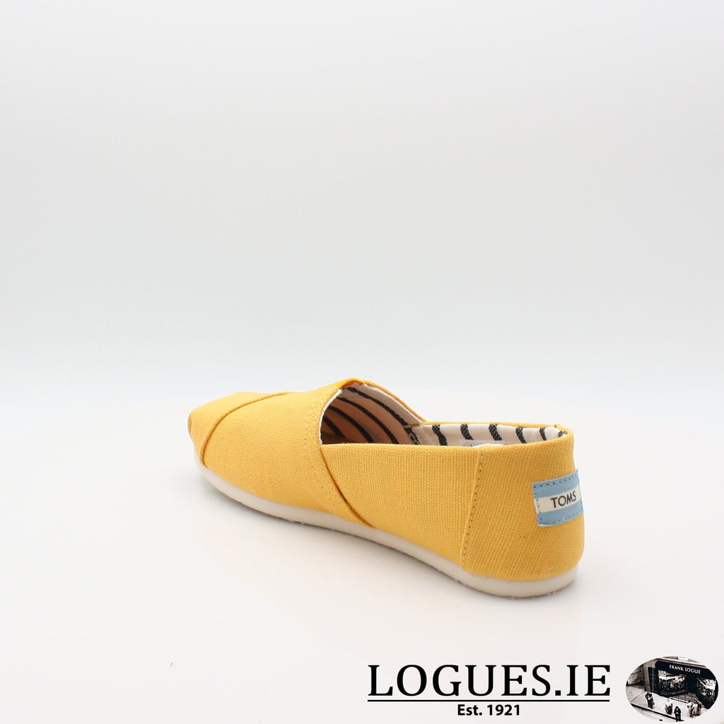 10013872 HERITAGE CANVASLadiesLogues ShoesGOLD FUSION / 8 UK - 42 EU -10 US