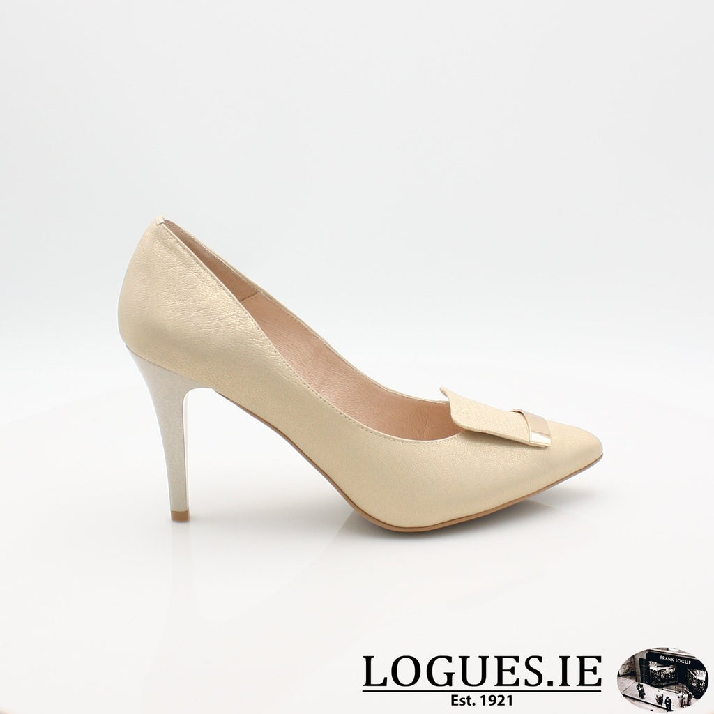 7314 EMIS 19LadiesLogues ShoesGOLD / 37 = 4 UK
