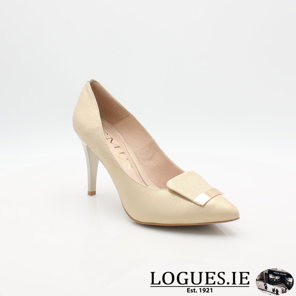 7314 EMIS 19LadiesLogues ShoesGOLD / 38 = 5UK