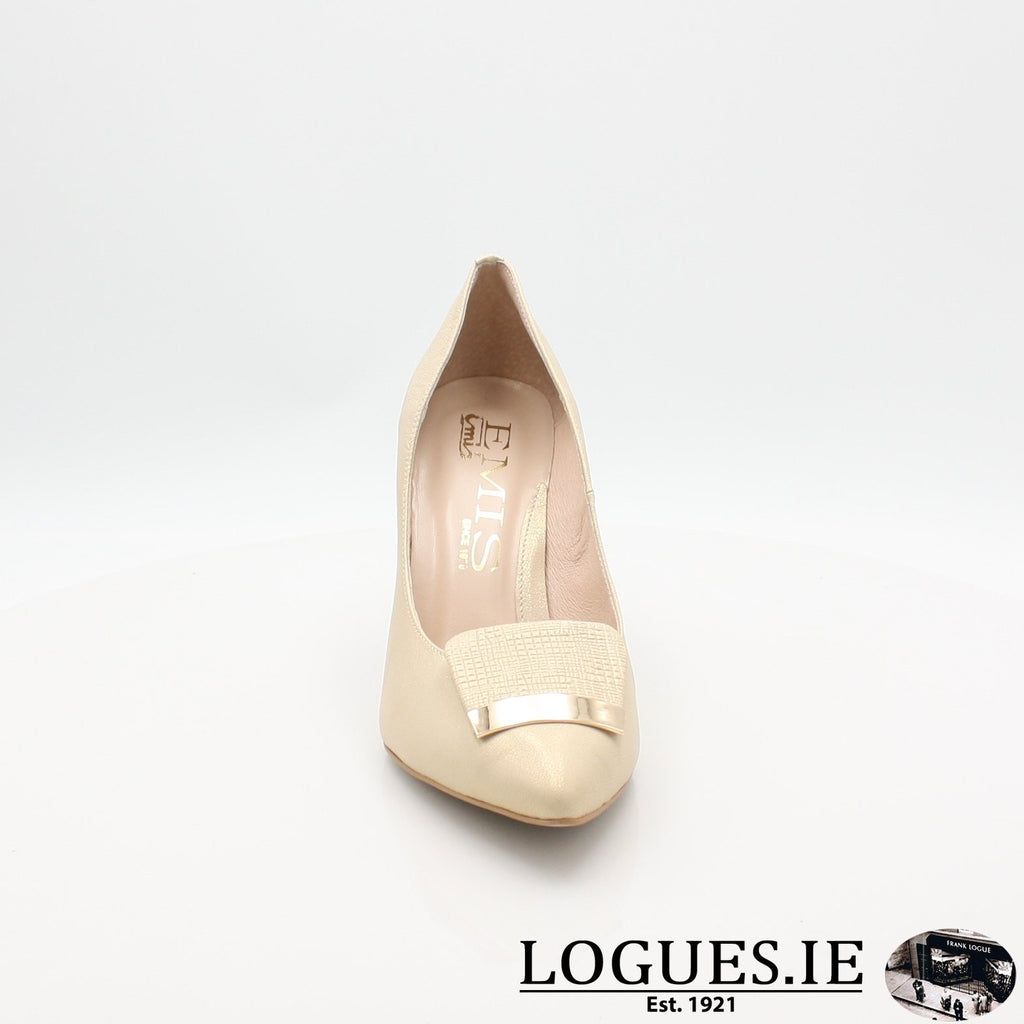 7314 EMIS 19LadiesLogues ShoesGOLD / 39 = 6 UK