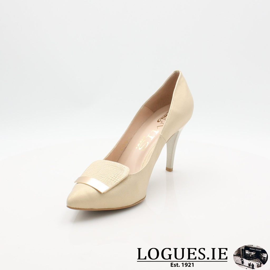 7314 EMIS 19LadiesLogues ShoesGOLD / 40 = 6.5/7 UK