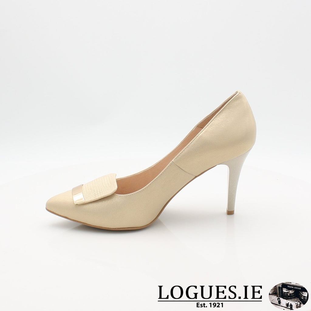 7314 EMIS 19LadiesLogues ShoesGOLD / 41 = 7/8 UK