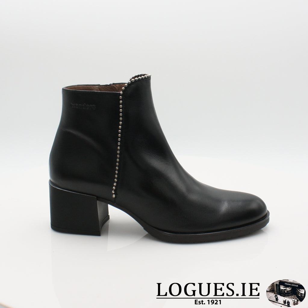 H-3522 WONDERS 19BOOTSLogues ShoesOREGON NEGRO / 3 UK- 36 EU - 5 US