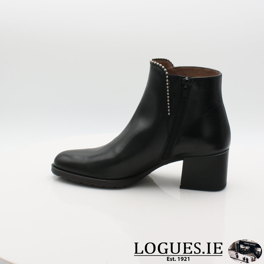 H-3522 WONDERS 19BOOTSLogues ShoesOREGON NEGRO / 6.5 UK - 40 EU -8.5 US