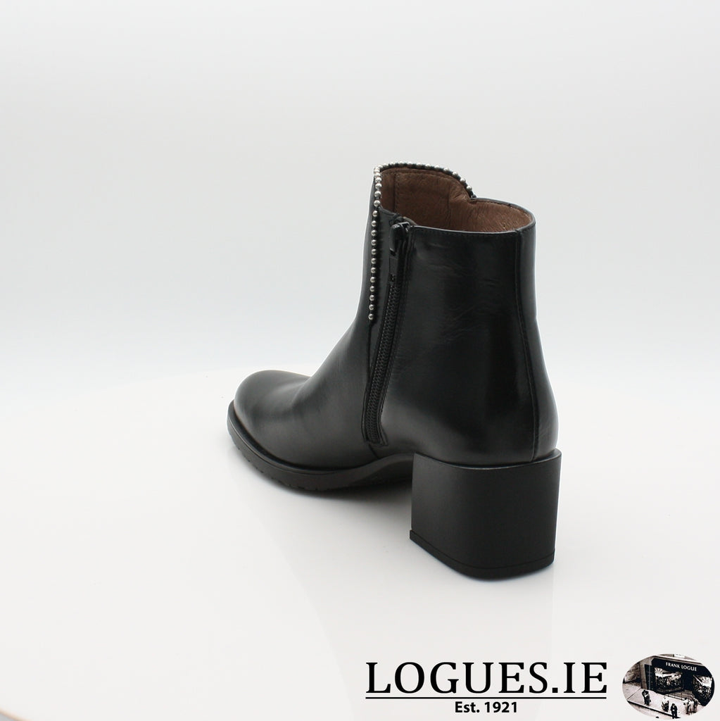 H-3522 WONDERS 19BOOTSLogues ShoesOREGON NEGRO / 7 UK- 41 EU - 9 US