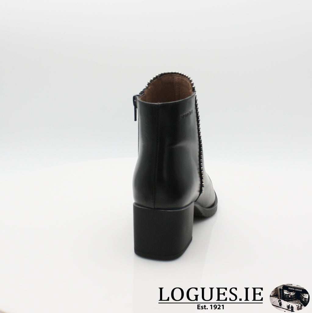 H-3522 WONDERS 19BOOTSLogues ShoesOREGON NEGRO / 8 UK - 42 EU -10 US