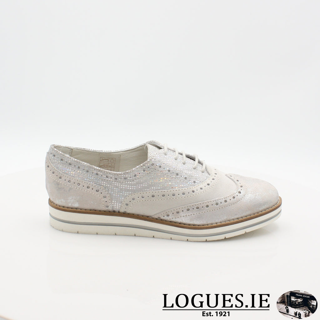 HATTIE 1545 DUBARRYLadiesLogues Shoes36 Silver / 37