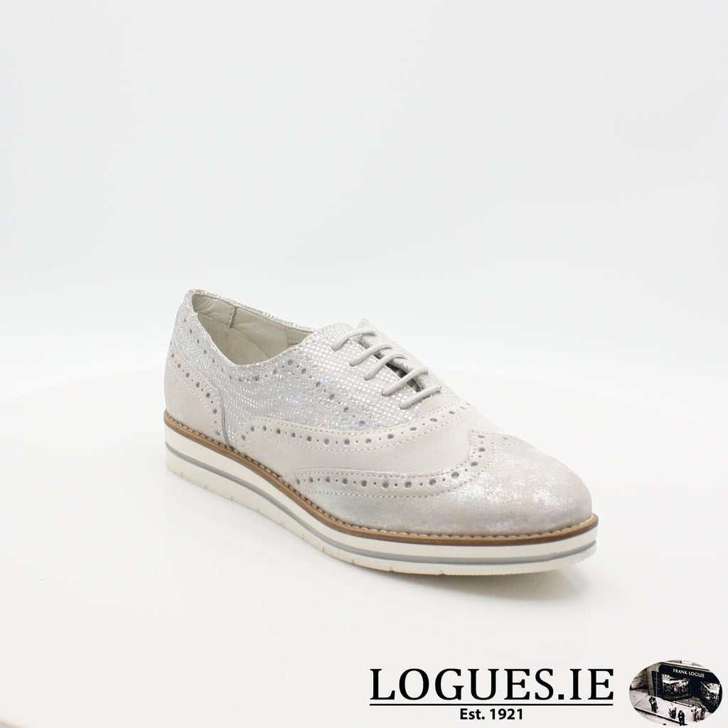 HATTIE 1545 DUBARRYLadiesLogues Shoes36 Silver / 38