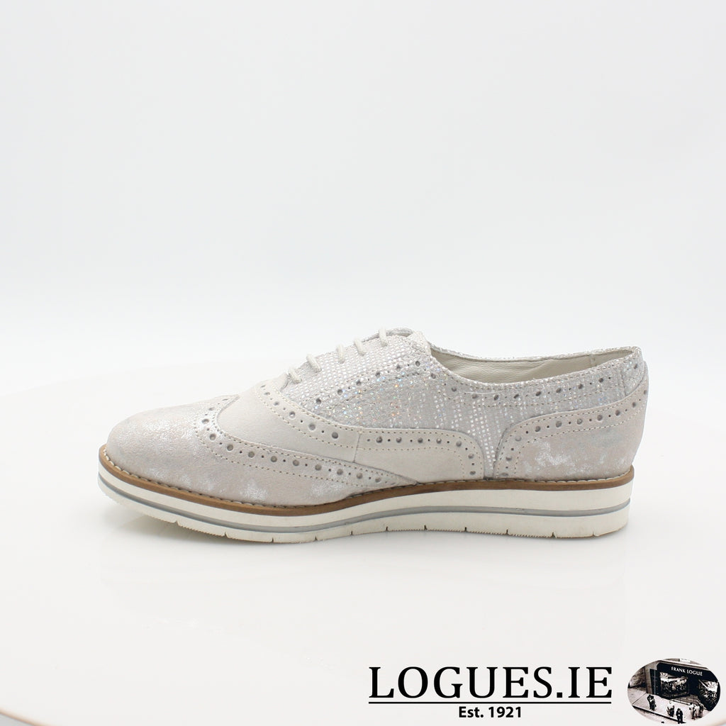 HATTIE 1545 DUBARRYLadiesLogues Shoes36 Silver / 41