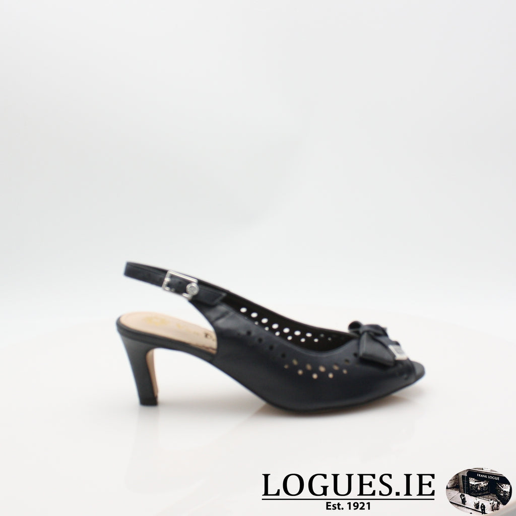 VAN HawkhurstLadiesLogues ShoesMidnight / Saff / 065 / E