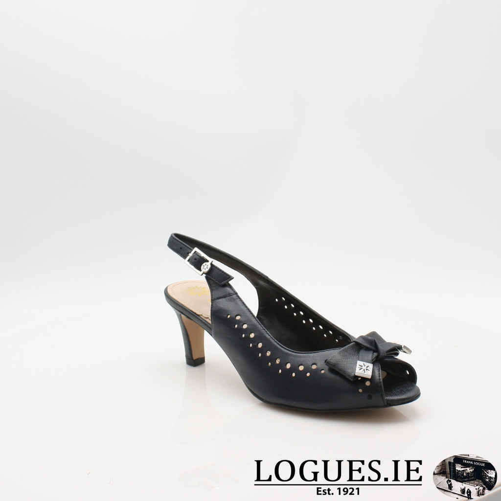 VAN HawkhurstLadiesLogues ShoesMidnight / Saff / 080 / E