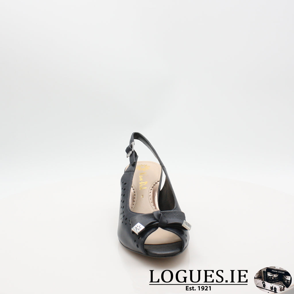VAN HawkhurstLadiesLogues ShoesMidnight / Saff / 060 / E