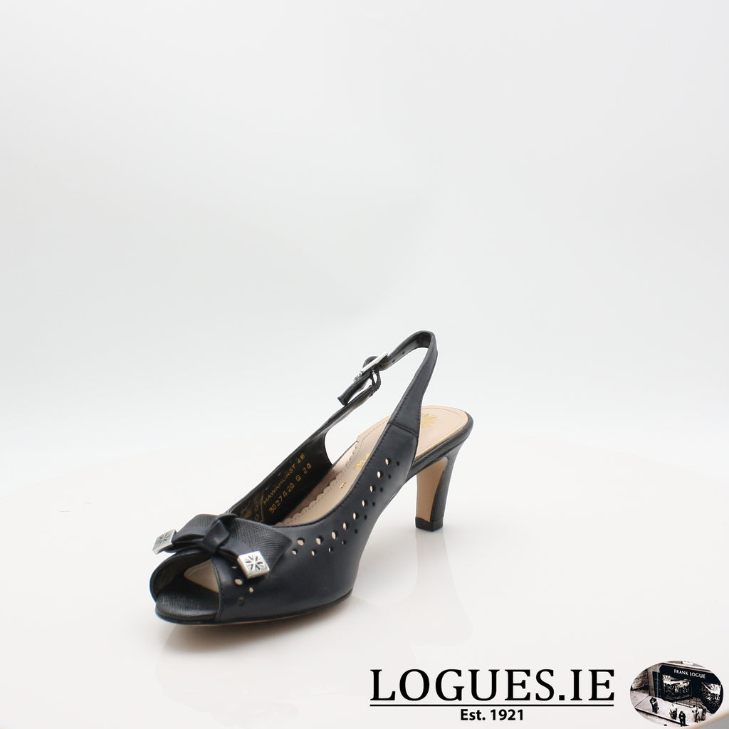 VAN HawkhurstLadiesLogues ShoesMidnight / Saff / 040 / E