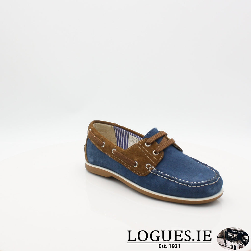 DUB HAYES 1613LadiesLogues ShoesDENIM/TAN / 4 UK -37 EU - 6 US
