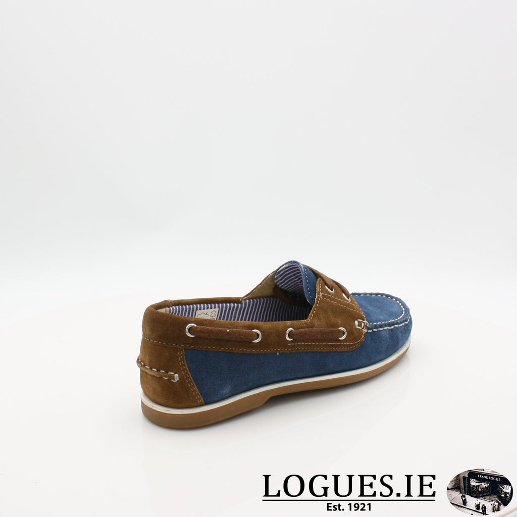 DUB HAYES 1613LadiesLogues ShoesDENIM/TAN / 40 EU