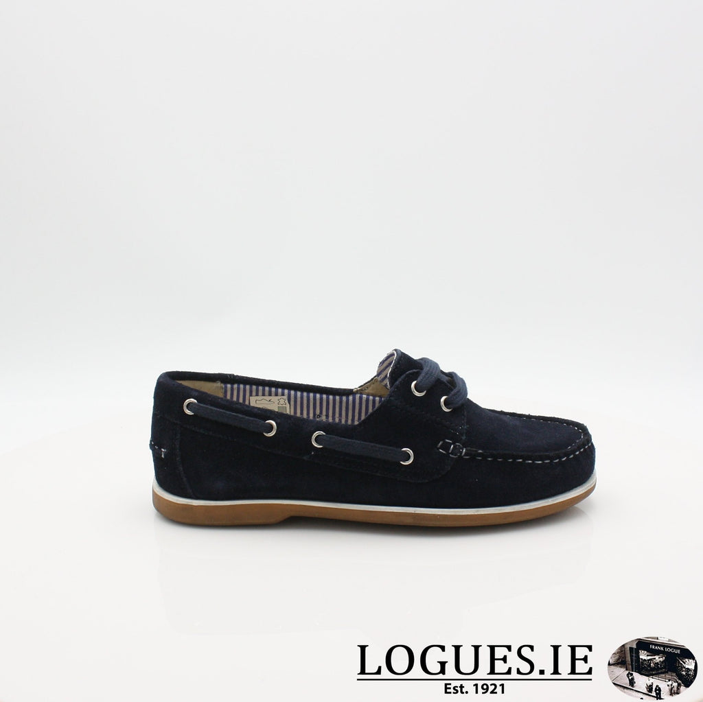 DUB HAYES 1613LadiesLogues ShoesNAVY / 4 UK -37 EU - 6 US