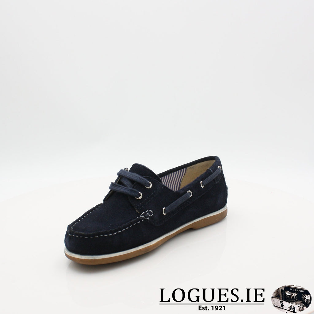 DUB HAYES 1613LadiesLogues ShoesNAVY / 7 UK- 41 EU - 9 US