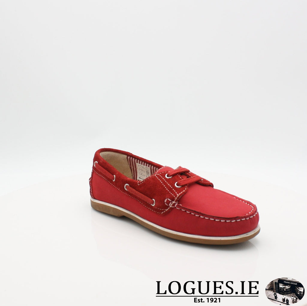 DUB HAYES 1613LadiesLogues ShoesRED / 4 UK -37 EU - 6 US