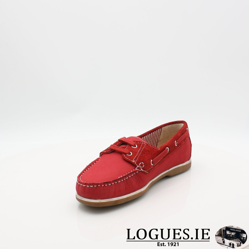 DUB HAYES 1613LadiesLogues ShoesRED / 6 UK- 39 EU - 8 US