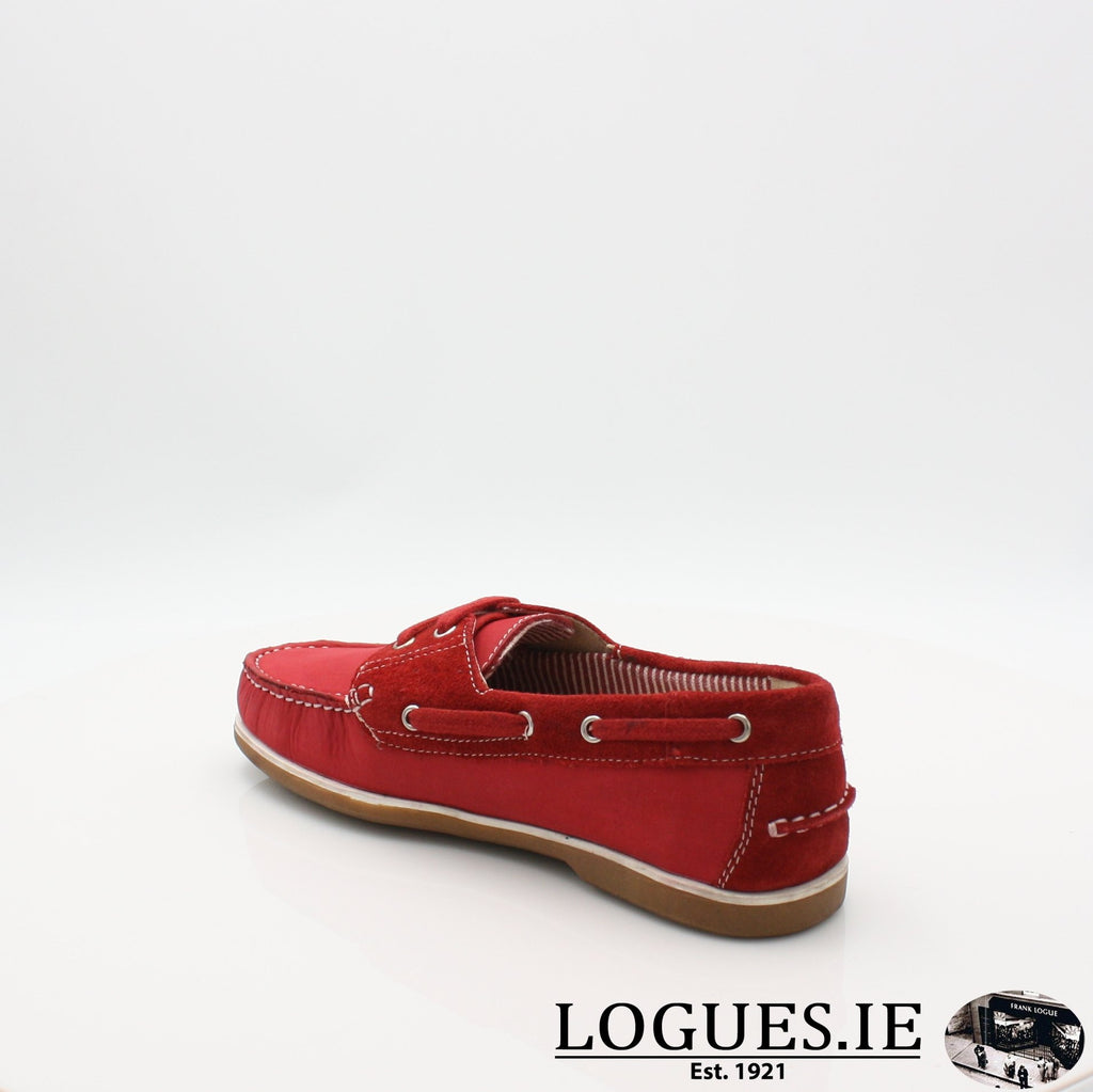 DUB HAYES 1613LadiesLogues ShoesRED / 8 UK - 42 EU -10 US