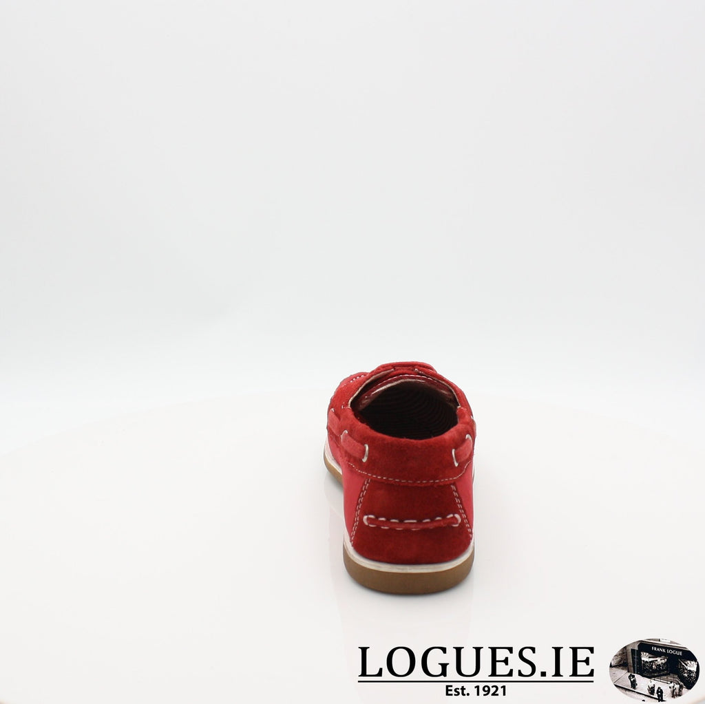DUB HAYES 1613LadiesLogues ShoesRED / 9 UK - 43 EU- 12 US