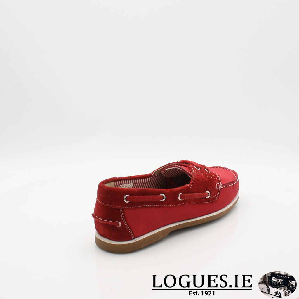 DUB HAYES 1613LadiesLogues ShoesRED / 40 EU