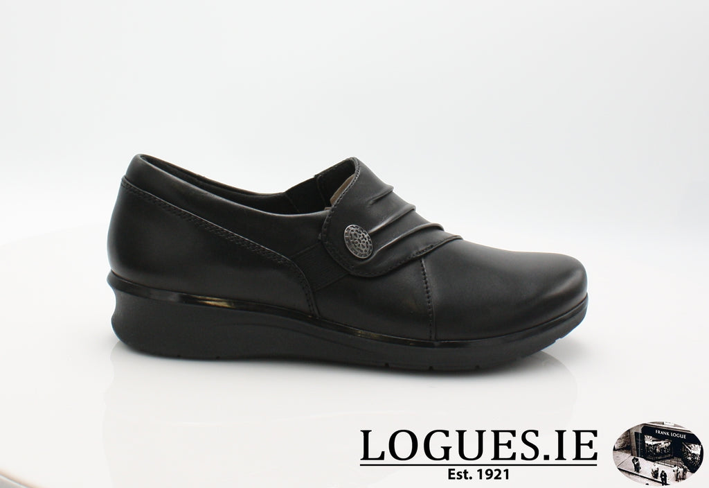 Hope Roxanne CLARKS 19-Ladies-Clarks-Black-040-D-Logues Shoes