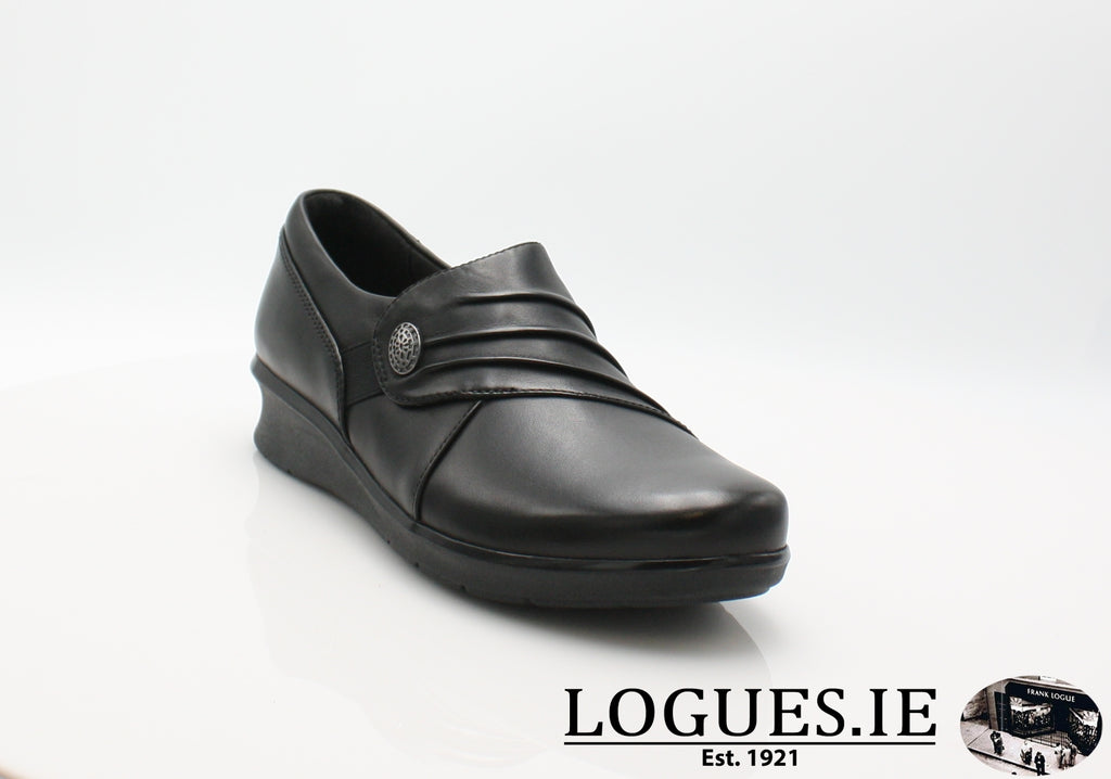 Hope Roxanne CLARKS 19-Ladies-Clarks-Black-025-D-Logues Shoes