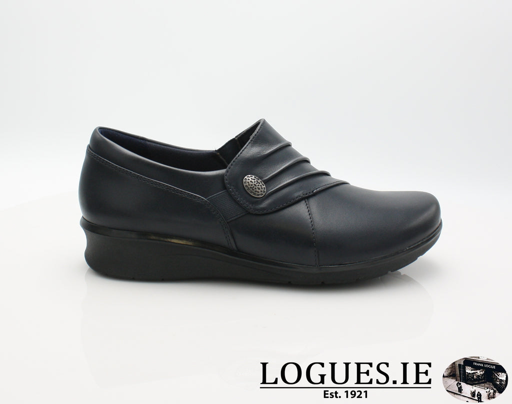 Hope Roxanne CLARKS 19-Ladies-Clarks-Navy-040-E-Logues Shoes