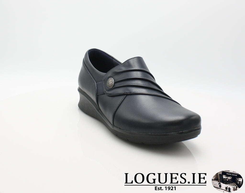 Hope Roxanne CLARKS 19-Ladies-Clarks-Navy-050-E-Logues Shoes