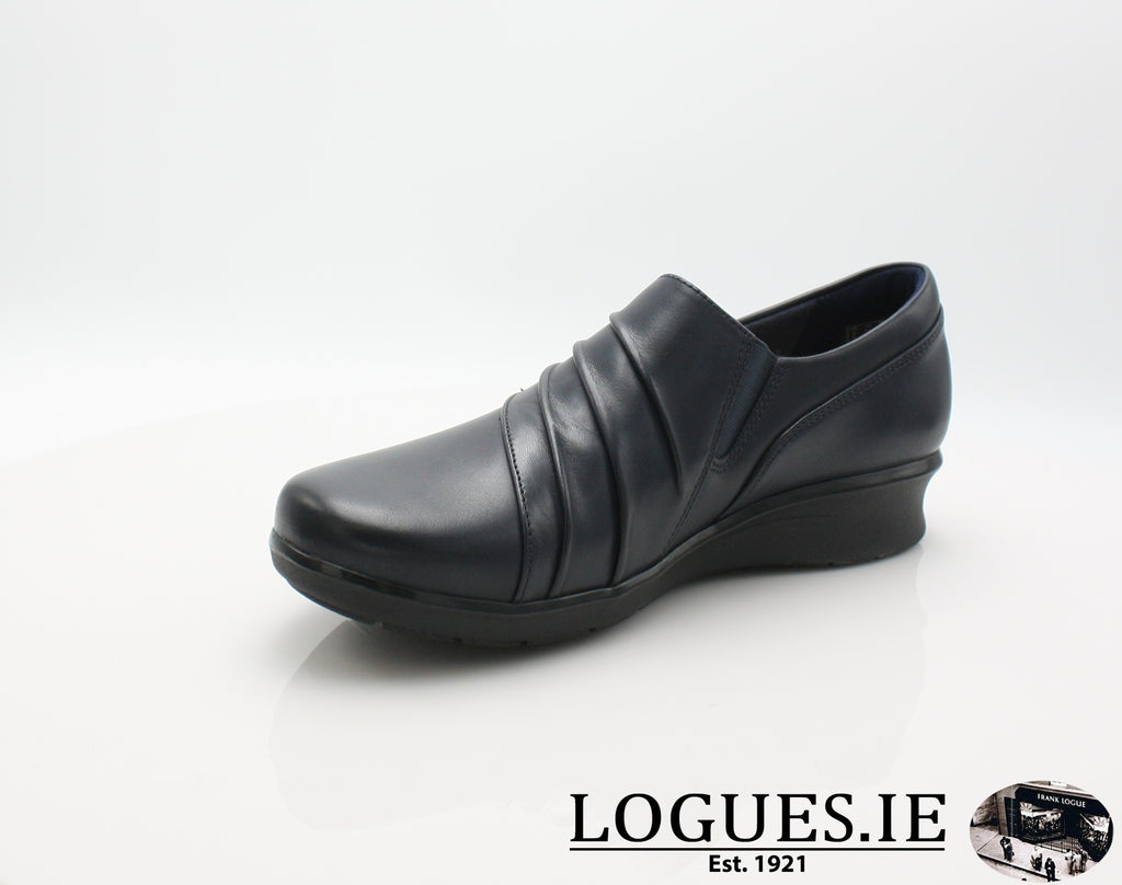 Hope Roxanne CLARKS 19-Ladies-Clarks-Navy-065-E-Logues Shoes