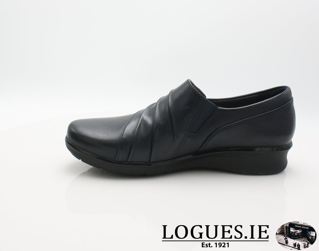 Hope Roxanne CLARKS 19-Ladies-Clarks-Navy-070-E-Logues Shoes
