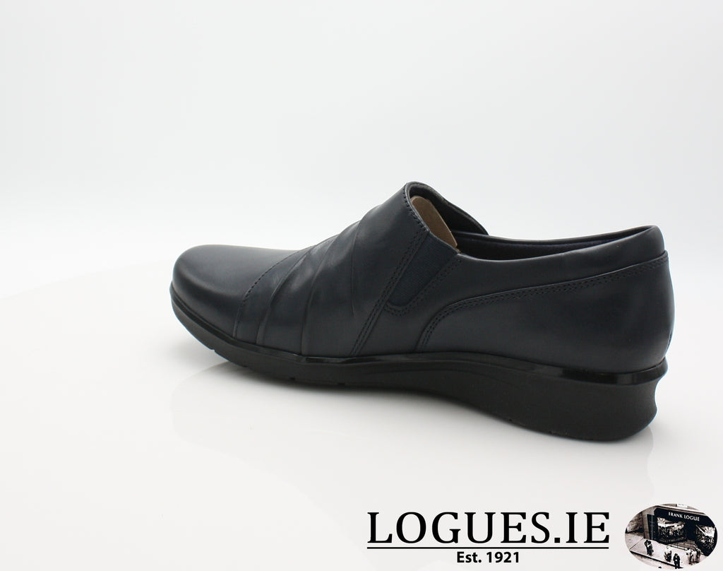 Hope Roxanne CLARKS 19-Ladies-Clarks-Navy-075-E-Logues Shoes