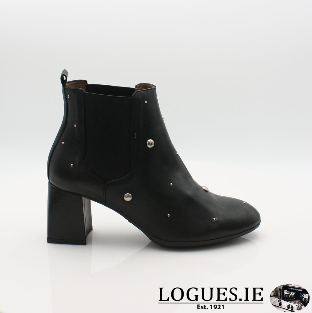 I7710  WONDERS 19BOOTSLogues ShoesISEO NEGRO / 3 UK- 36 EU - 5 US