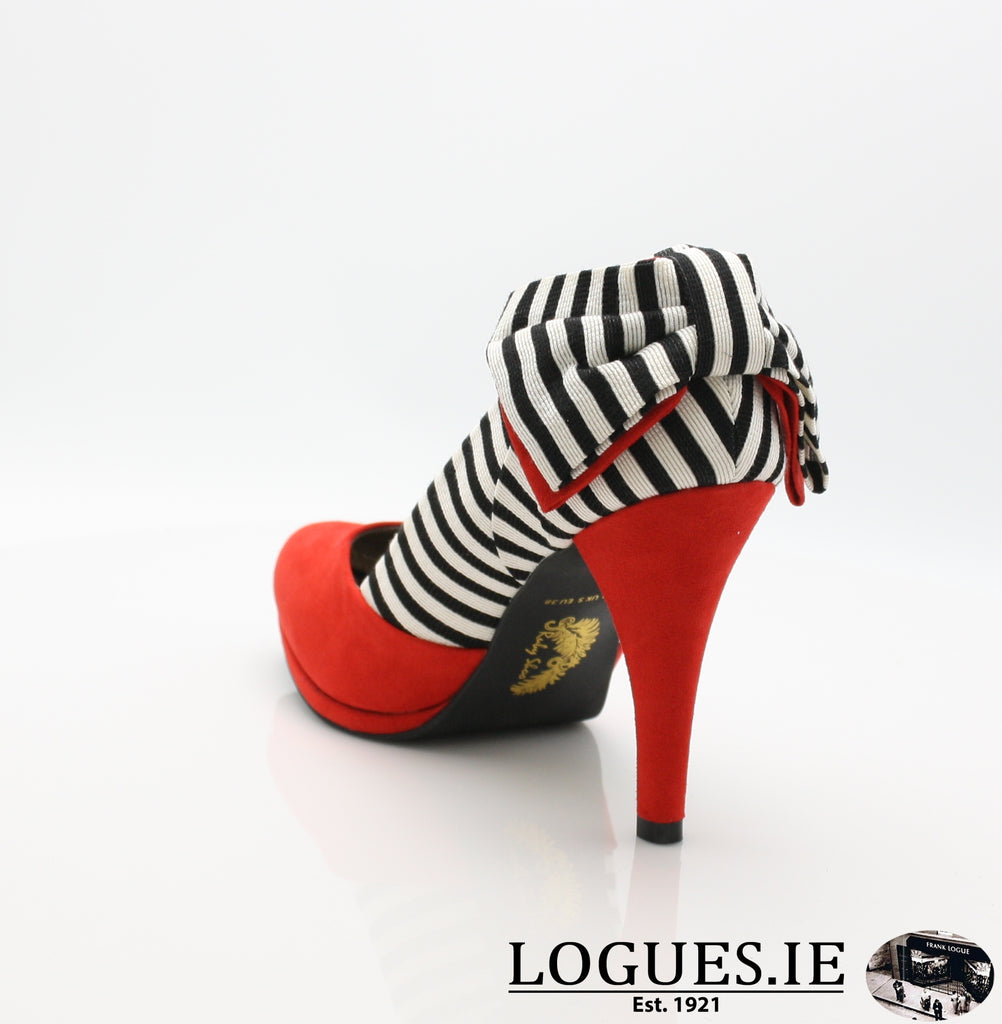 KATIE 09217 RUBY SHOO-Ladies-RUBY SHOO-RED-41 = 7/8 UK-Logues Shoes