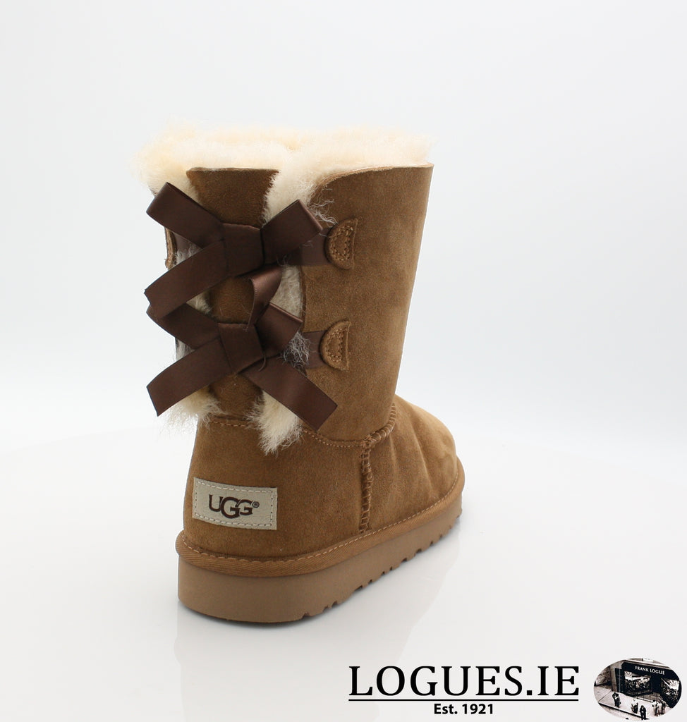 UGGS KIDS BAILEY BOW 3280K-SALE-UGGS FOOTWEAR-CHESNUT-6 US 5 UK-Logues Shoes