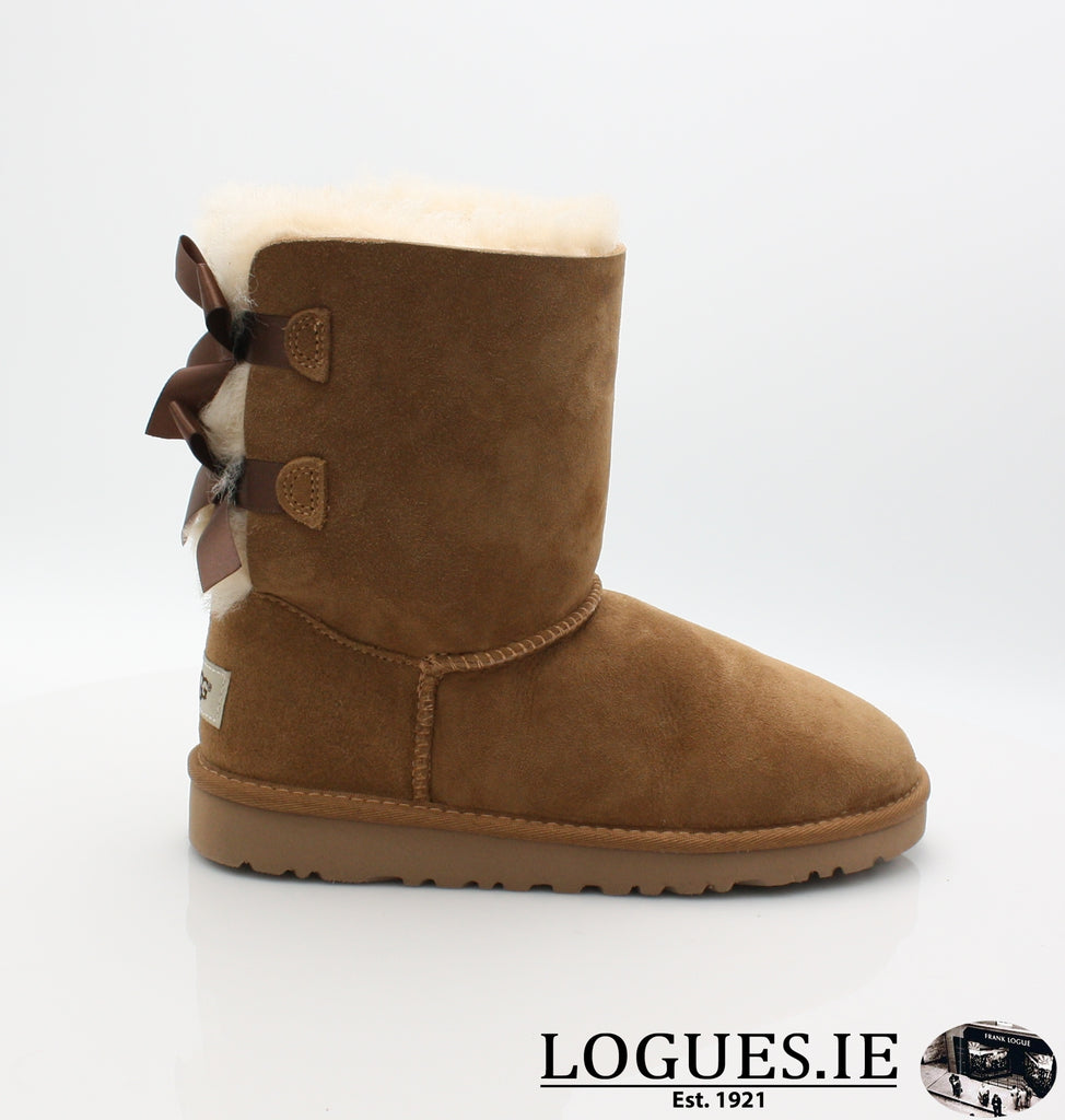 UGGS KIDS BAILEY BOW 3280K-SALE-UGGS FOOTWEAR-CHESNUT-1US 13 UK-Logues Shoes
