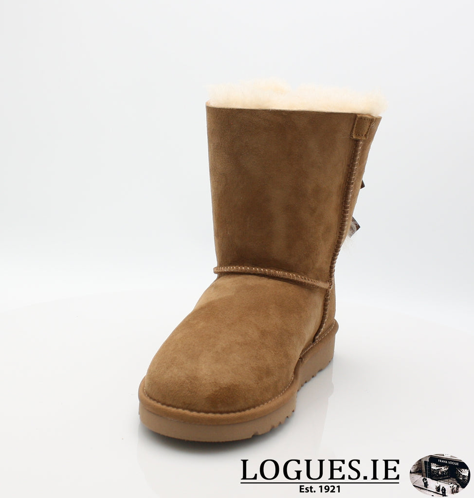 UGGS KIDS BAILEY BOW 3280K-SALE-UGGS FOOTWEAR-CHESNUT-3 US 2 UK-Logues Shoes