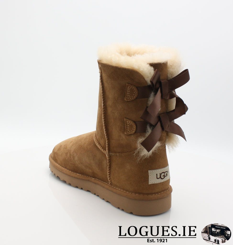 UGGS KIDS BAILEY BOW 3280K-SALE-UGGS FOOTWEAR-CHESNUT-5 US 4 UK-Logues Shoes