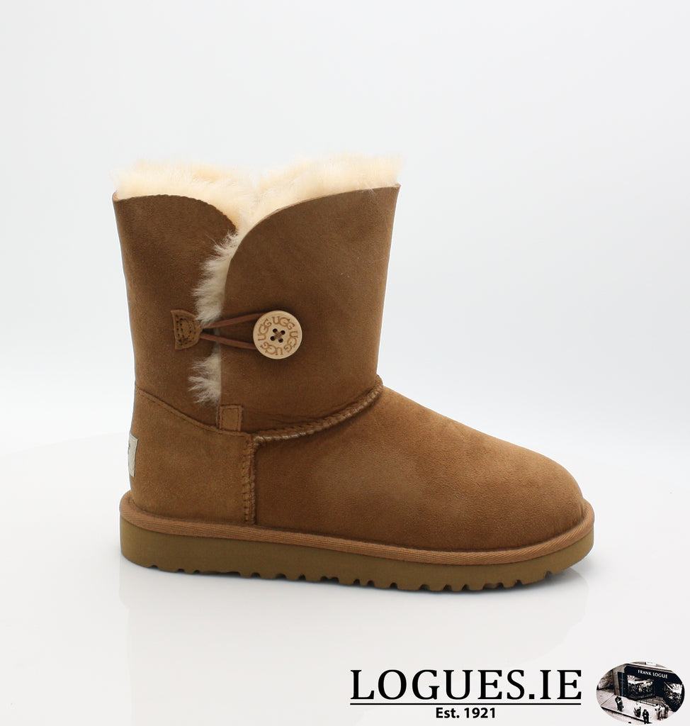 UGGS KIDS BAILEY BUTTON 5991-SALE-UGGS FOOTWEAR-CHESNUT-1 US 13 UK-Logues Shoes