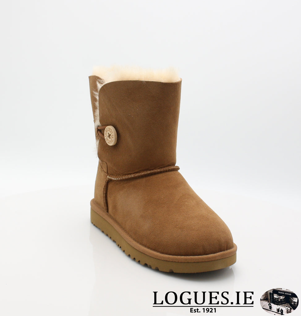 UGGS KIDS BAILEY BUTTON 5991-SALE-UGGS FOOTWEAR-CHESNUT-2 US 1 UK-Logues Shoes